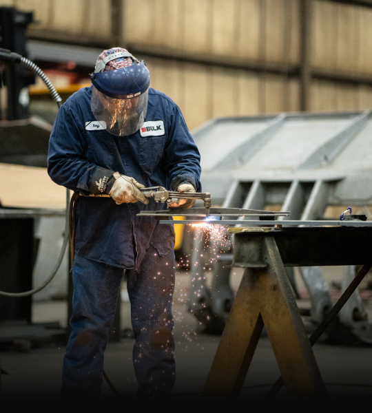 Tony In Action at Bulk's Fabrication + Machine Shop