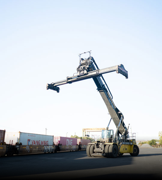 Example of a Hard to Find Machine Bulk Sourced, Intermodal Division