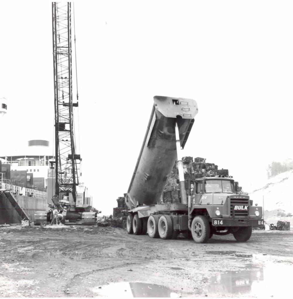 Bulk Transport Back In The Day Working As Stevedores, Loading & Unloading Ships