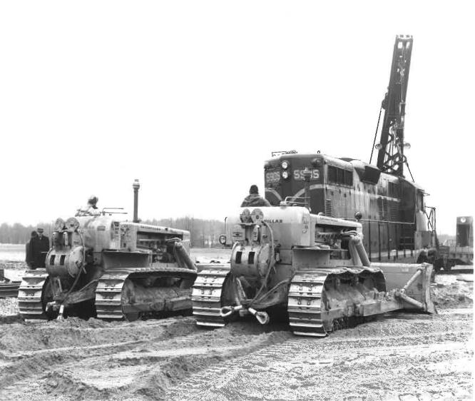 Brown's Crew Assisting With Railroad Derailments