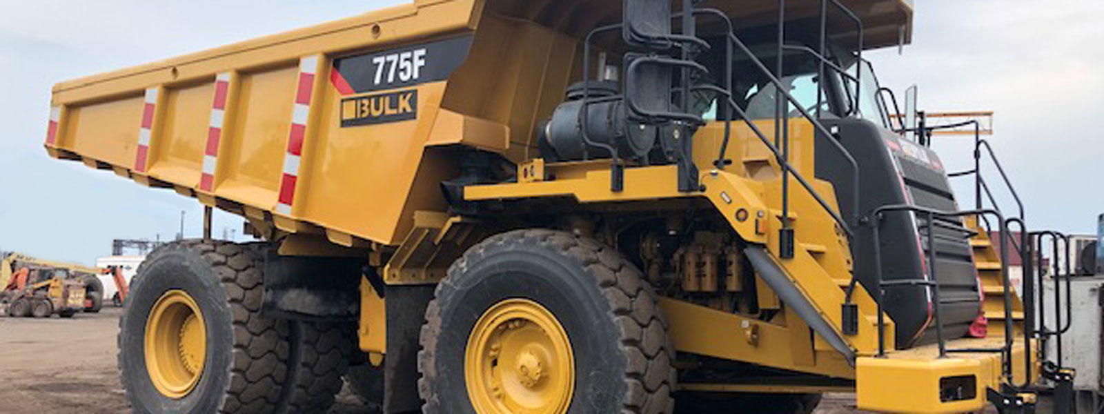 775f Haul Truck At Project Site