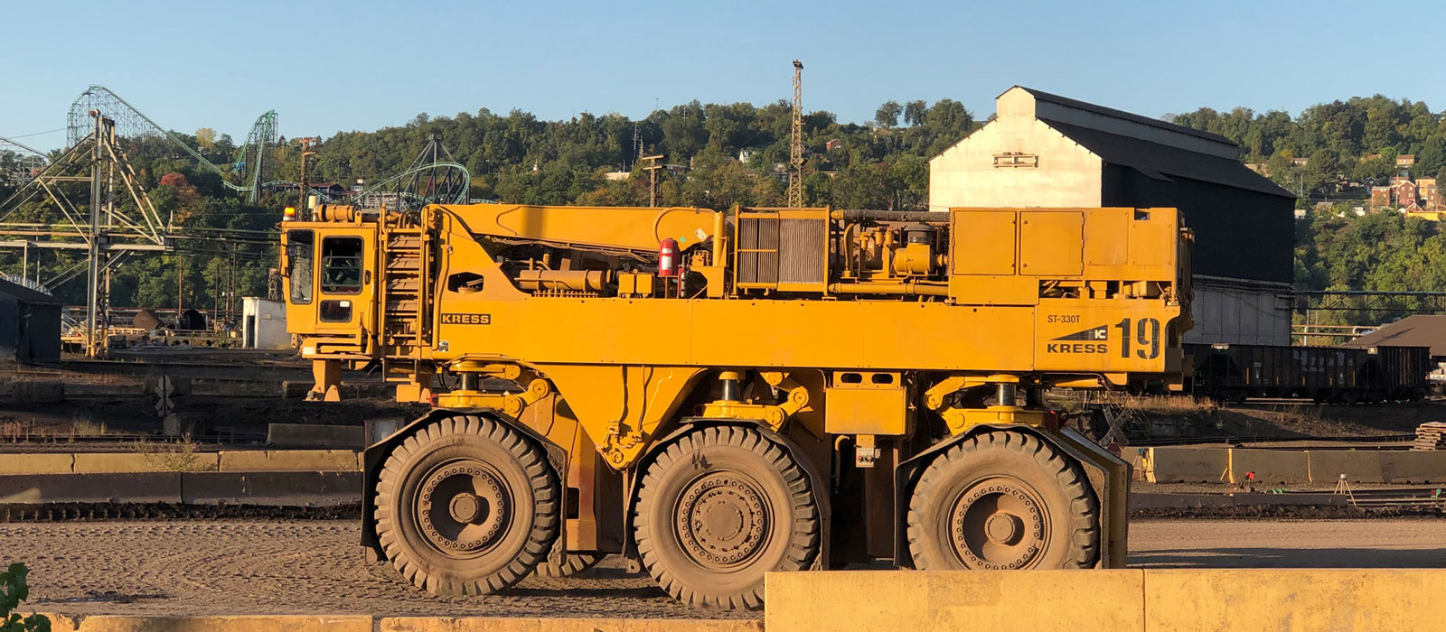 Kress Slab Carrier At Project Site